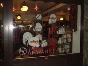 Ahwahnee Window Display