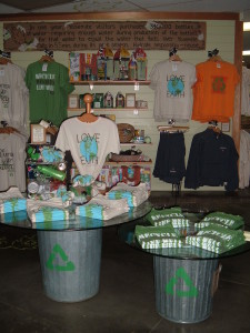 Yosemite Green Habitat Store Handcrafted Signs & Fixtures