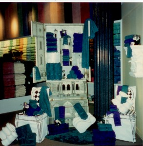 Macy's (Horne's) Soft Goods Hand Sewn & Painted Chair Covers