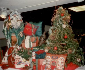 "Macy's (Horne""s) Christmas Soft Goods Display"