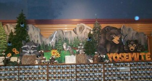 Yosemite Village Store Icon & Bear Carving